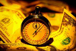 Stopwatch and Money